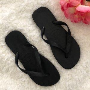 Havaianas Black flip-flops size 7/8